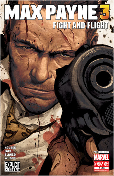 Original Comic Book Series Max Payne 3