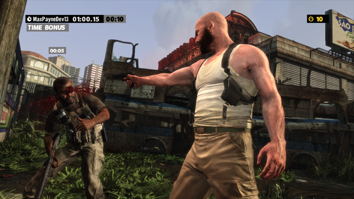 max payne 3 gameplay time