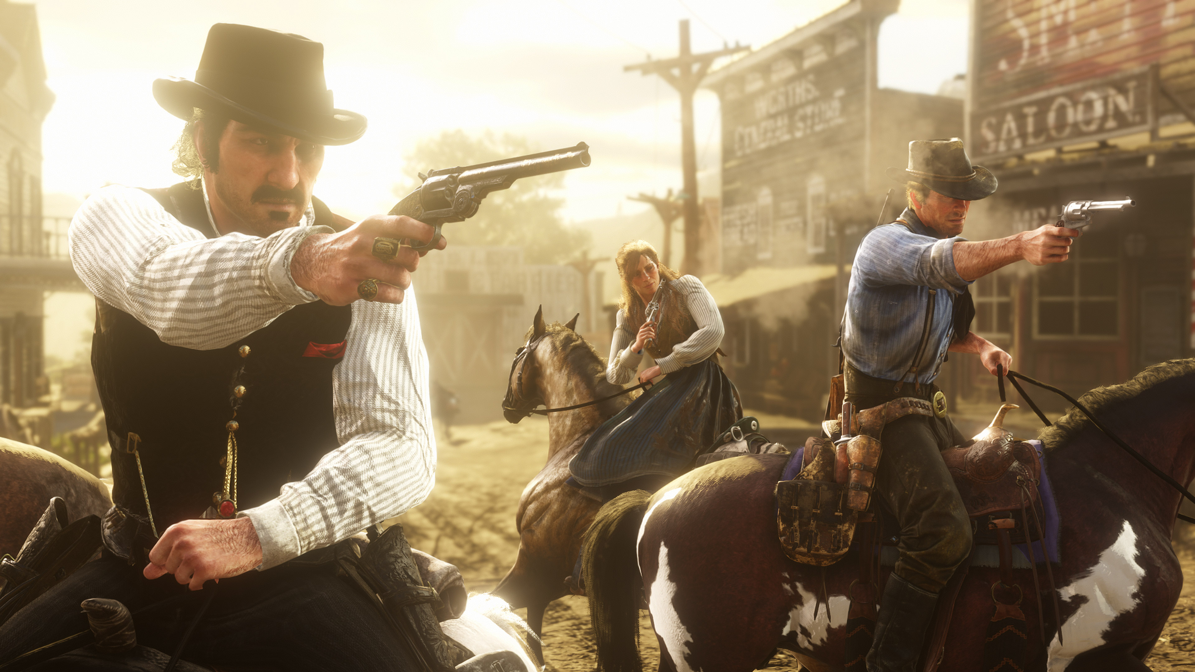 Red Dead Redemption 2: The Frontier, Cities & Towns